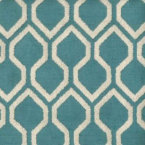 RAJAH Peacock 407 Norbar Fabric