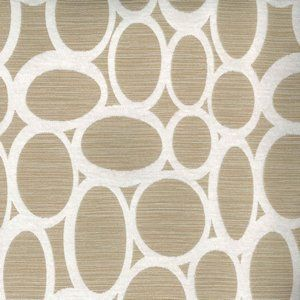 RHODES Bone 10 Norbar Fabric
