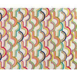 A9 00011927 TUTTI FRUTTI EMBROIDERY Colorfulness Scalamandre Fabric