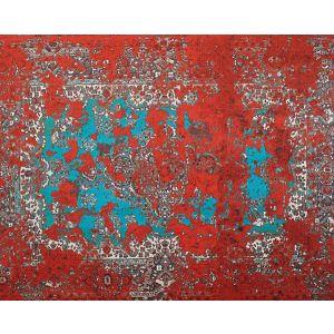 A9 00011985 SHADE CARPET VELVET Red Shade Scalamandre Fabric