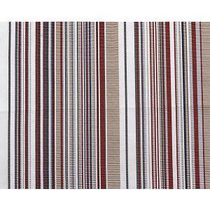 A9 00021843 STRIPE MANIA Tropical Red Scalamandre Fabric