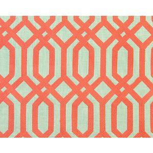 A9 00041863 TRELLIS ADDICTION Coral Scalamandre Fabric