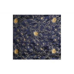 A9 09017709 PRINCESS SILK Patriot Blue Scalamandre Fabric
