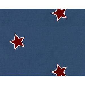 B8 00020587 NEWSTARS Blue Red Scalamandre Fabric