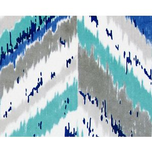 B8 0004668A BALAKA Blue Scalamandre Fabric