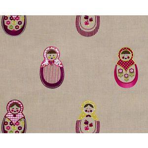 B8 00060591 DOLLY Fuchsia Scalamandre Fabric