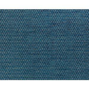 BK 0005K65116 CHEVRON CHENILLE Peacock Scalamandre Fabric