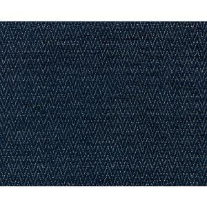 BK 0006K65116 CHEVRON CHENILLE Indigo Scalamandre Fabric