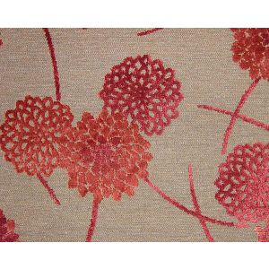 CA 25701260 ZINNIA Cuivre Capucine Old World Weavers Fabric