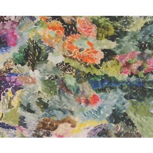 CH 05044455 OEUVRE Green Multi Scalamandre Fabric