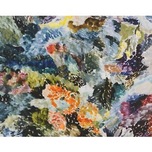 CH 06014456 VERNISSAGE Blue Multi Scalamandre Fabric