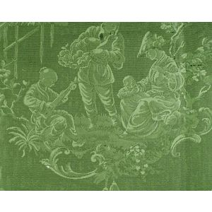 CL 000226259 RACCONIGI Verde Foglia Scalamandre Fabric