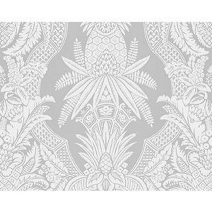 CL 0002WP16482 EAST INDIA Bianco Grigio Scalamandre Wallpaper