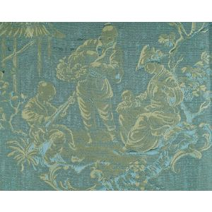 CL 000326259 RACCONIGI Turchese Scalamandre Fabric
