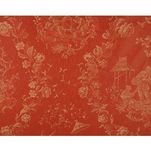 CL 000426259 RACCONIGI Rosso Scalamandre Fabric