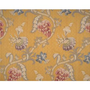 CL 000426721 ROCAILLE Multi On Gold Scalamandre Fabric
