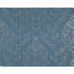 CL 000526402 VILLA LANTE UNITO Prussian Blue Scalamandre Fabric