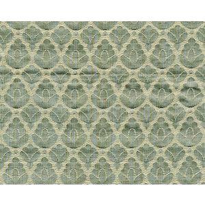 CL 001126714 RONDO Aquamarine Ivory Scalamandre Fabric