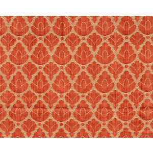 CL 001226714 RONDO Red Linen Scalamandre Fabric