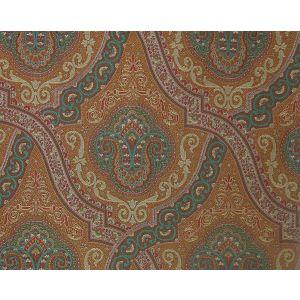 ET 00041819 ANTONOVA FH Teal Gold Old World Weavers Fabric