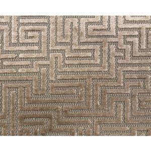 F3 00027002 VELLUTO LABIRINTO Sand Old World Weavers Fabric