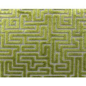 F3 00047002 VELLUTO LABIRINTO Citron Old World Weavers Fabric