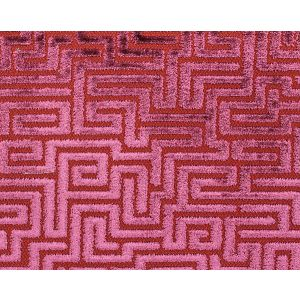 F3 00057002 VELLUTO LABIRINTO Raspberry Old World Weavers Fabric