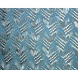 F3 00068029 VIA DELLA SPIGA Teal Old World Weavers Fabric
