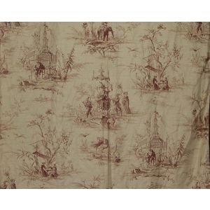 FB 0003A02A VOYAGE EN CHINE Mauve Old World Weavers Fabric