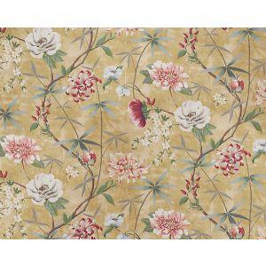 H0 00010583 PRINTEMPS DE CHINE Or Scalamandre Fabric