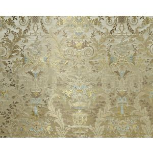 H0 00011684 VERDI BROCART Argent-Sold By Repeat-No Cfa Scalamandre Fabric