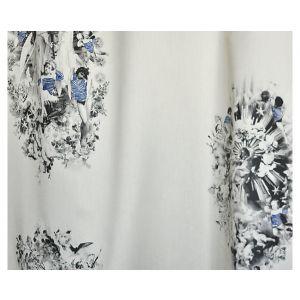 H0 00013448 MOUSSAILLON Noir Scalamandre Fabric