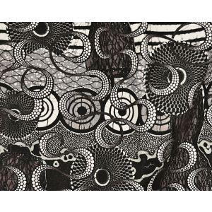 H0 00013452 MELTINGPOT Graphite Scalamandre Fabric