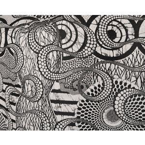 H0 00013456 METISSE Graphite Scalamandre Fabric