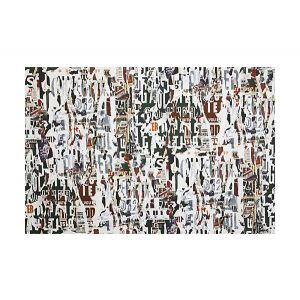 H0 00013472 METROPOLITAIN PRINT Naturel Scalamandre Fabric