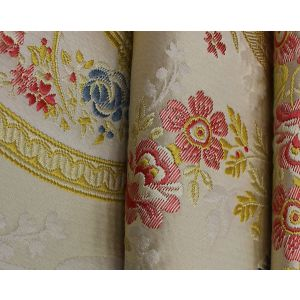 H0 00021553 MARIE ANTOINETTE Creme Scalamandre Fabric