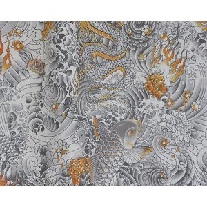 H0 00023438 ROCK Gold Scalamandre Fabric