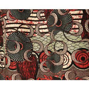 H0 00023452 MELTINGPOT Rouge Scalamandre Fabric