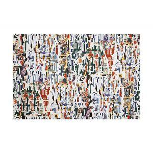 H0 00023472 METROPOLITAIN PRINT Multico Scalamandre Fabric