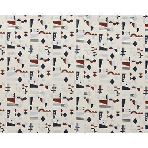H0 00030578 REGATE Nautique Scalamandre Fabric