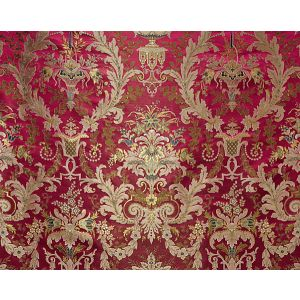 H0 00031683 VERDI LAMPAS Rubis-Sold By Repeat-No Cfa Scalamandre Fabric
