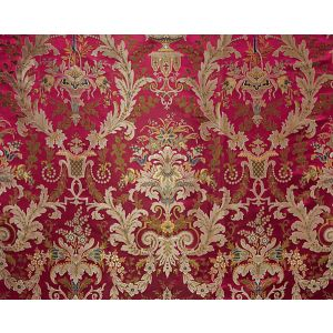 H0 00031684 VERDI BROCART Rubis-Sold By Repeat-No Cfa Scalamandre Fabric
