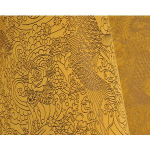H0 00063440 SKIN Gold Scalamandre Fabric