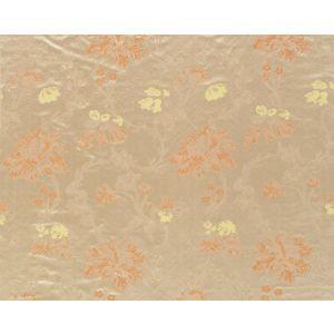 HB 0003HA83 MALLORCAN GARDEN Salmon Old World Weavers Fabric
