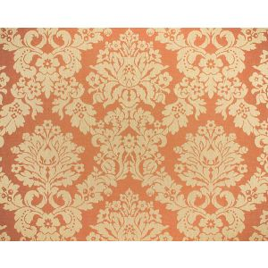 LM 019A3031 FELICE DAMASK Rust Old World Weavers Fabric