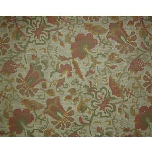 LU 00010002 MOLDAVIA Stone Terracotta Old World Weavers Fabric