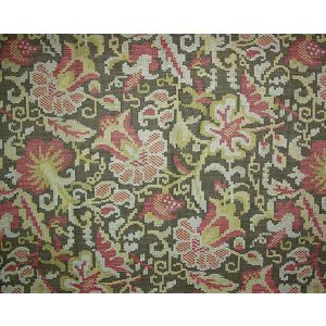 LU 00030002 MOLDAVIA Pomegranate Brown Old World Weavers Fabric