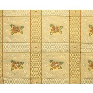 MO 00022017 AVIGNON FH Gold Flower Old World Weavers Fabric