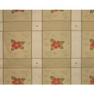 MO 00032017 AVIGNON FH Topaz Flower Old World Weavers Fabric