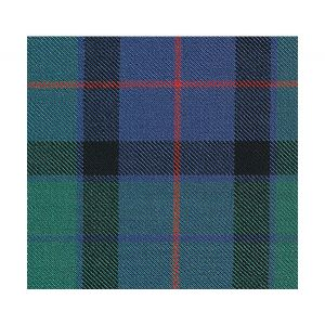 MR 03680866 FLOWER OF SCOTLAND SINGLE WDTH Blue Green Old World Weavers Fabric